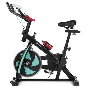 Exercise Bike Home Gym Bicycle Cycling Cardio Fitness Training Green