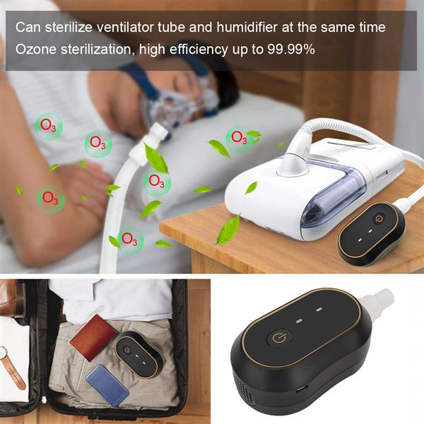 Breathing Machine Ozone Cleaning Machine Professional USB Charging Portable Cleaner
