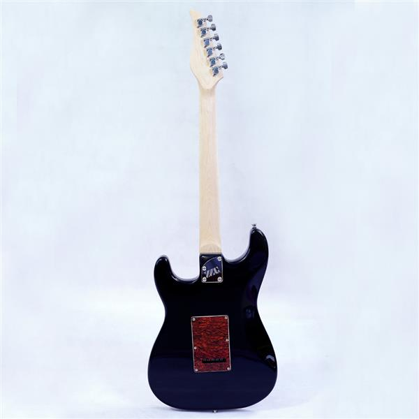 New style ST electric guitar basswood body maple neck maple fingerboard SSH alnico pick up black turn blue color good quality