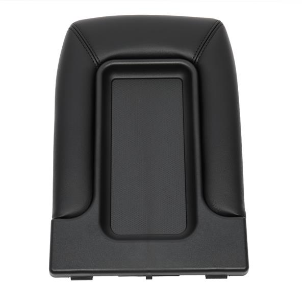Central Control Armrest Cover for 1999-2007 Chevy Silverado PVC/ABS Black