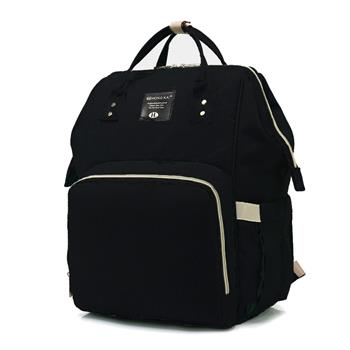 Baby Diaper Bag Multi-Function Travel Backpack Baby Nappy Changing Mommy Bags Black