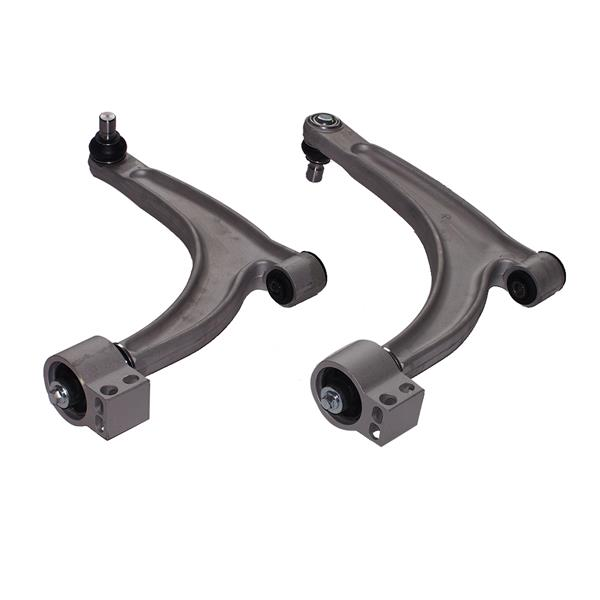 8PCS Front Lower Control Arms For 2004-2009 Chevrolet Malibu Ball Joint Tie Rods