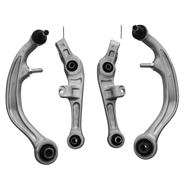 4 Pcs Front Lower Control Arms Kit Suspension For 03-07 Infiniti G35 RWD Coupe
