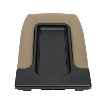 Central Control Armrest Cover for 1999-2007 Chevy Silverado PVC/ABS Black & Beige