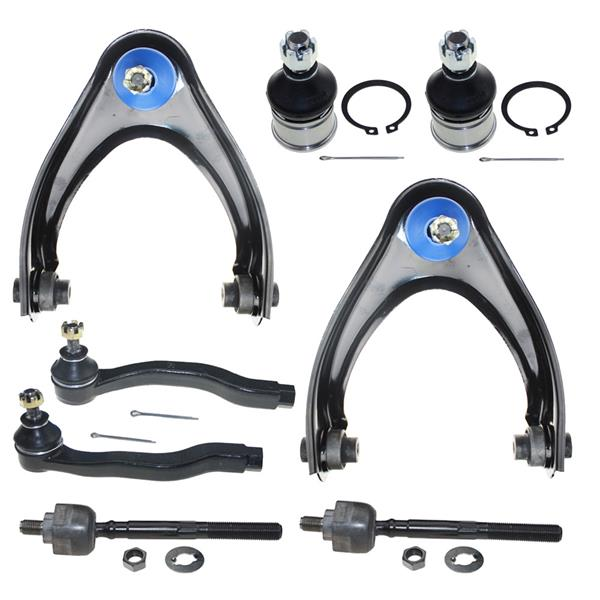 8pcs Complete Control Arm Front Suspension Kit for 97-00 ACURA 96-00 HONDA