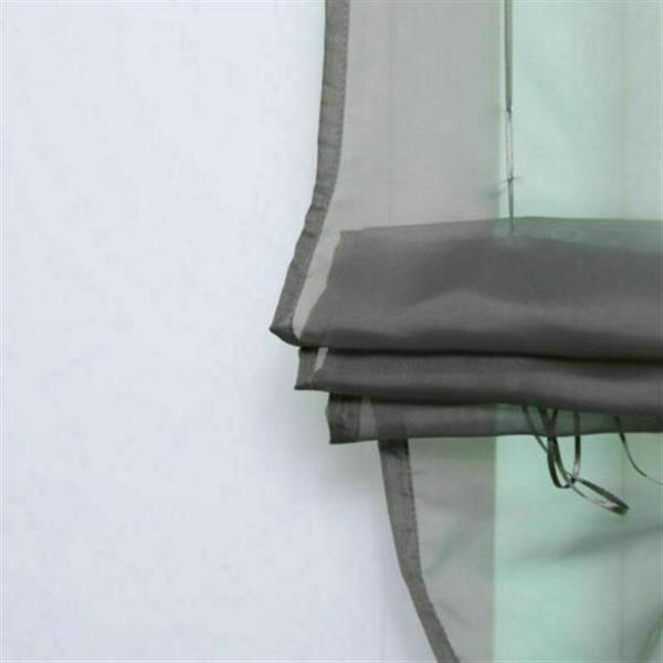 Liftable Voile Sheer Roman Curtain 80*155 cm