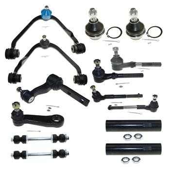 14pcs Complete Control Arm Front Suspension Kit for 97-04 FORD 98-02 LINCOLN
