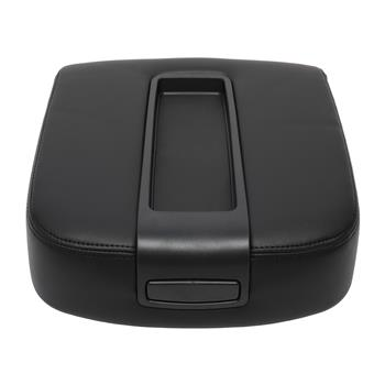 Central Control Armrest Cover for 2007-2014 Cadillac Chevy GMC Pickup Truck Black