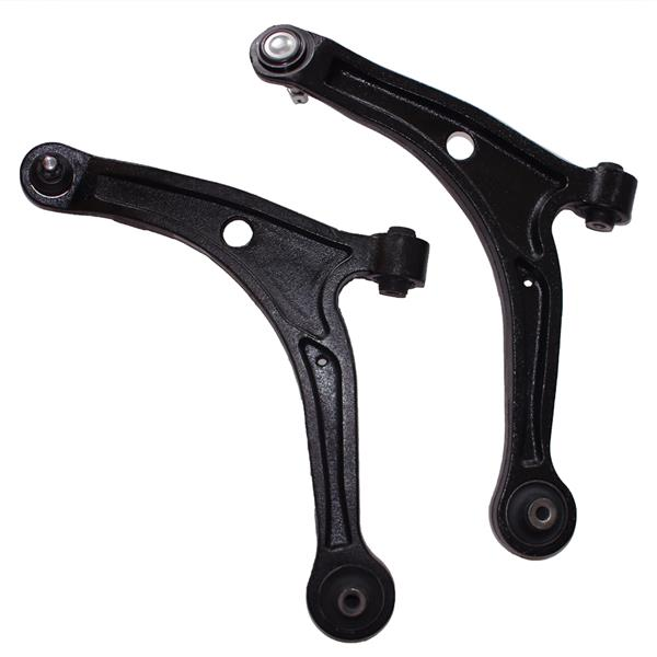 Pair Front Lower Control Arms w/ Ball Joints For 2003-2005 2006-2008 Honda Pilot
