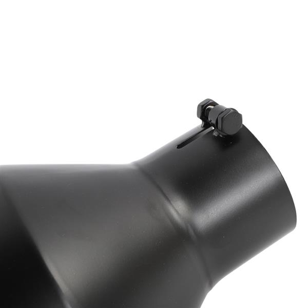 Black Powder Coated Stainless Steel Exhaust Tip