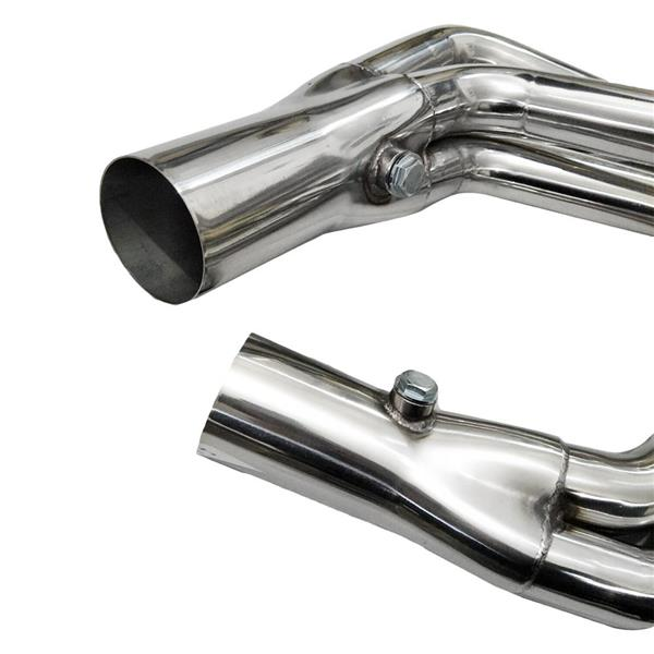 For Chevrolet Camaro 2010-2014 6.2L LONG TUBE STAINLESS HEADER EXHAUST MANIFOLD