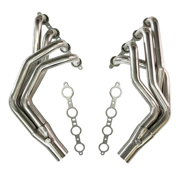 For Fox Body LS Conversion Swap Headers 79-93 & 94-04 Ford Mustang 4.8L 5.3L