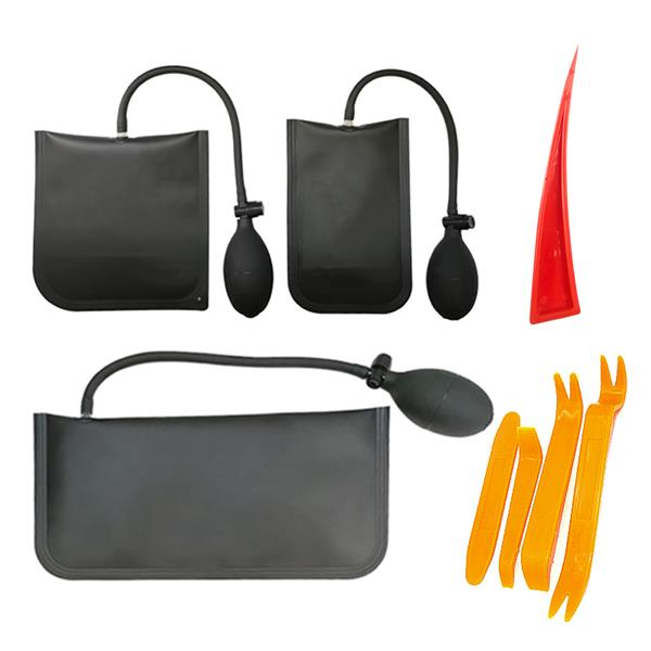 Air wedge bag kit-commercial leveling kit and alignment tool inflatable gasket, 3 sizes, maximum pressure 200kg, 4 pry tools