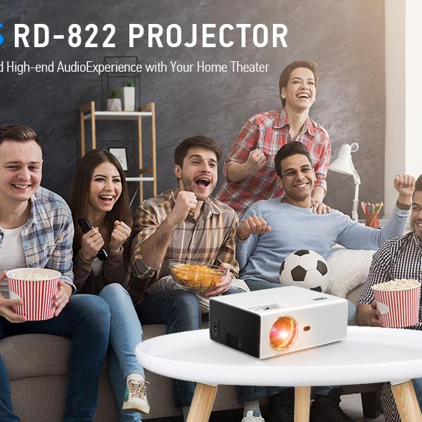 AZEUS RD-822 Video Projector [2020 Upgrade Model] (The product has a risk of infringement on the Amazon platform)