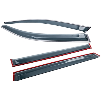 晴雨挡Window Visors Rain Guards Side Deflectors For Honda Pilot 2016-2020
