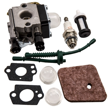 New Complete Carburetor Kit for STIHL FS55 FS55R FS55RC 4140 120 0619