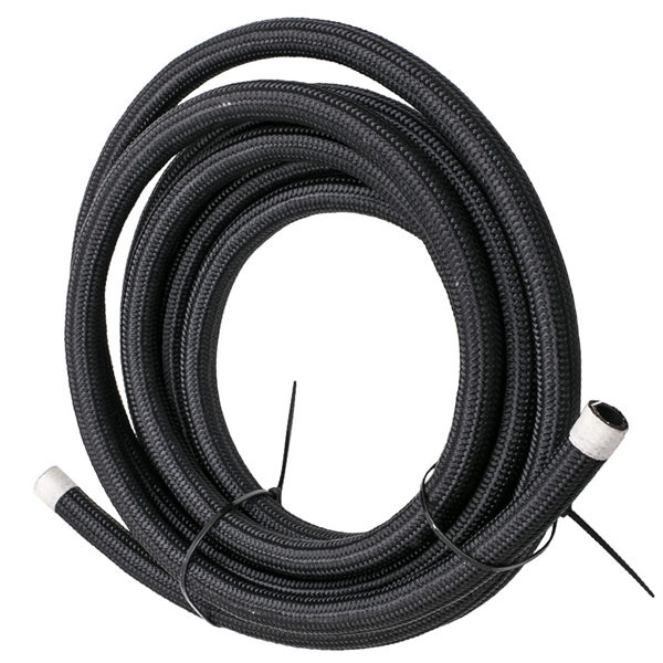 10AN 16FT Fuel/Gas Tank/Cell Braid Oil Hose Line+Hose End Fitting Separator Kit