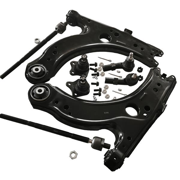 Front Lower Control Arms Kit For 1999-2002 2003-2006 VW Volkswagen Jetta Golf