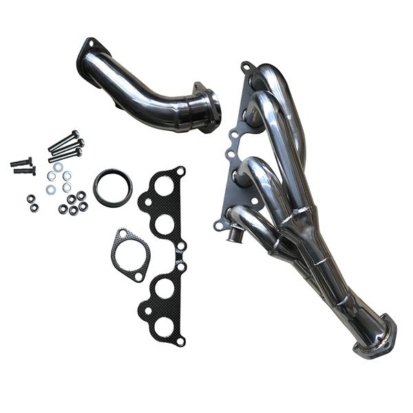 For Toyota Tacoma 95-01 2.4L 2.7L L4 Tri-Y Exhaust Manifold Performance Header