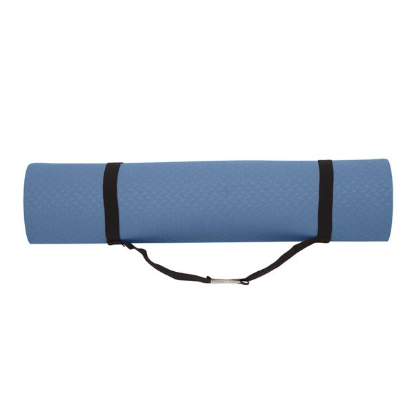 6mm Thick TPE Non-Slip Yoga Mat/Gym Mat (183x61x6cm) Deep Blue