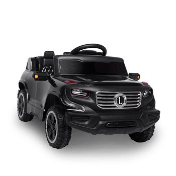 LEADZM LZ-910 Electric Car Single drive Children Car with 35W*1 6V7AH*1 Battery  Pre-Programmed Music and Remote control Black