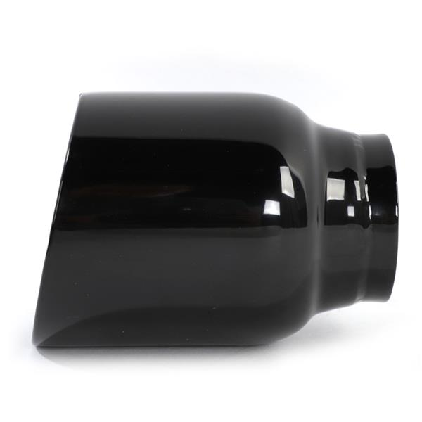 Black Paint Stainless Steel Exhaust Tip