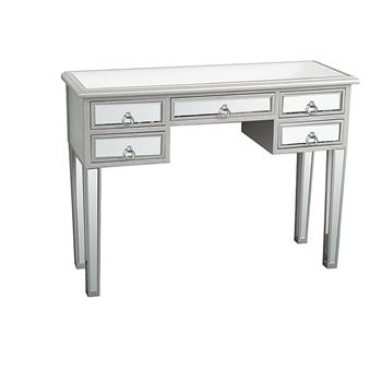 Illusions Collection Mirrored Entryway Console