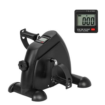 W002K Home Use Hands and Feet Trainer Mini Exercise Bike Black