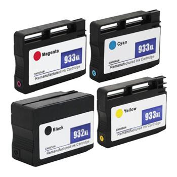 4pcs 932/933XL Ink Cartridge 1BL/1C/1M/1Y for HP