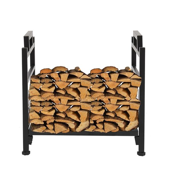 Single Layer Firewood Holder With Animal Pattern