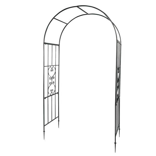 Arc Roof Wrought Iron Arch Plant Climbing Frame