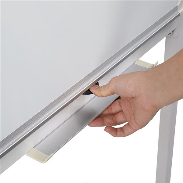 90x60cm Vertical Mobile Double-sided Whiteboard