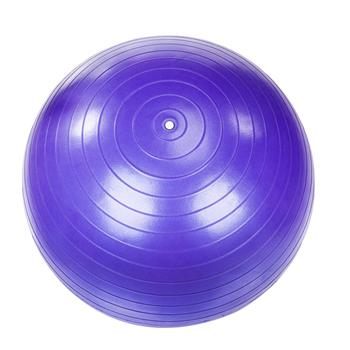 85cm 1600g Gym/Household Explosion-proof Thicken Yoga Ball Smooth Surface Purple