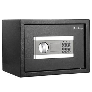 ZOKOP H250*W350*D250 mm Electronic Code Depository Security Safe Box Black