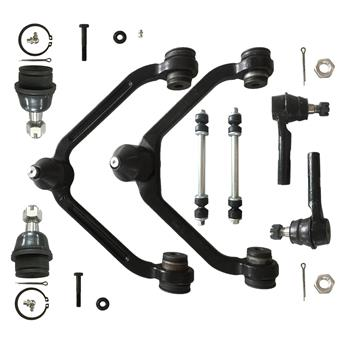 8pcs Complete Control Arm Front Suspension Kit for 95-11 FORD 97-01 MECURY