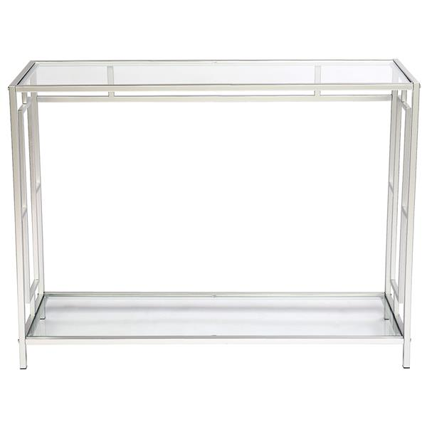 FCH Toughened Glass Panel Console Table