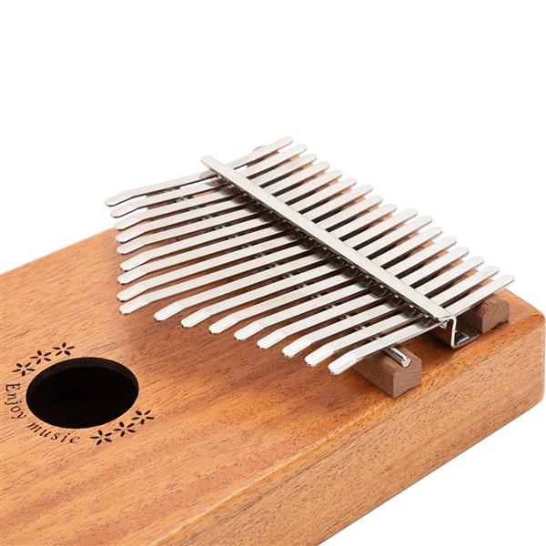 Kasch 17 Key Electric Kalimba Thumb Piano with Study Instruction and Tune Hammer support the use amplifier, Gifts for Kids and Adults Beginners