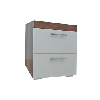Good-Looking And Practical Color Matching Double Pumping Bedside Table Stitching Color