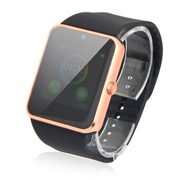 GT08 SIM Card GSM GPRS Smart Watch for iOS & Android Cellphone Rose Gold