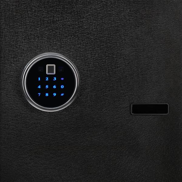 Home Use Electronic Password Steel Plate Safe Box 13.8*13*16.5""