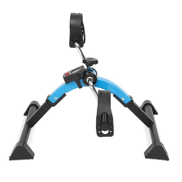SC-W002G Home Exerciser Mini Cycle Fitness Exercise Bike Mini Bike Hand and Foot Trainer Foldable New Blue