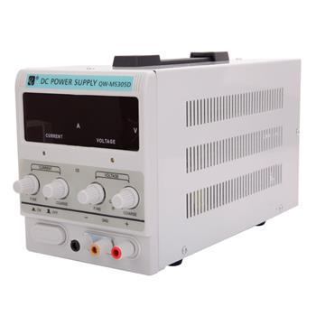 QW-MS305D 30V 5A Adjustable DC Stabilizer Power Supply (US Standard)