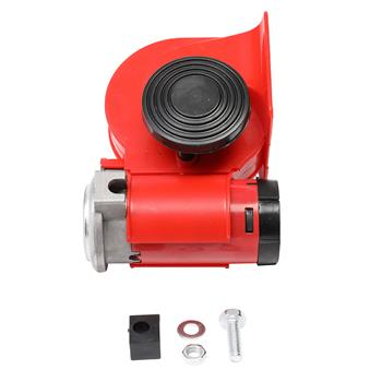 110DB Horn Red for Trucks, Cars, Trucks