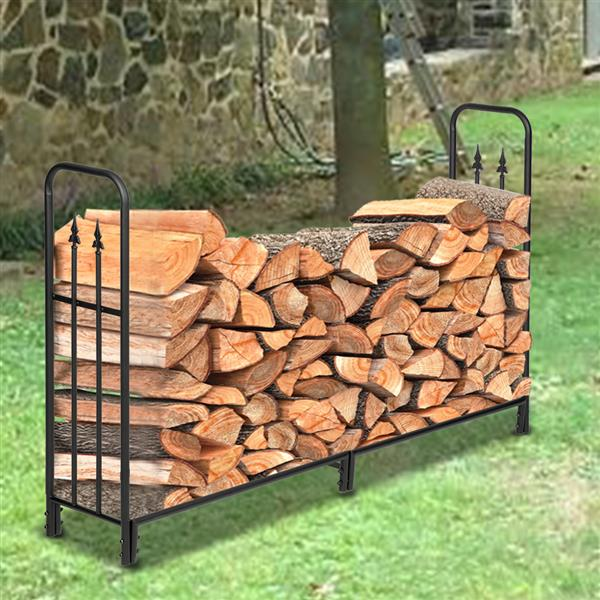 Double Row Splicing Firewood Holder