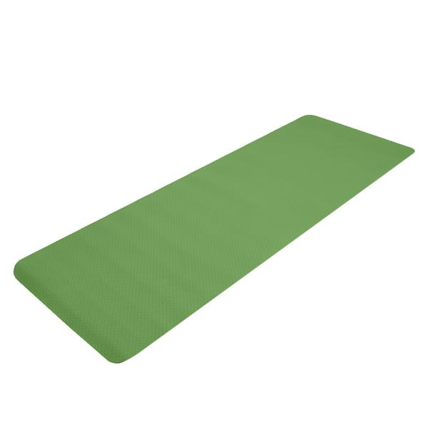 6mm Thick TPE Non-Slip Yoga Mat/Gym Mat (183x61x6cm) Deep Green