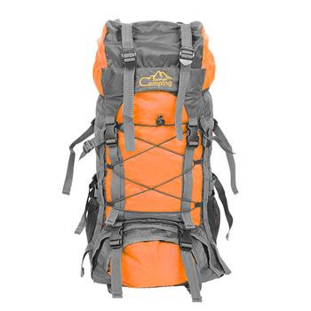 Free Knight SA008 60L Outdoor Waterproof Hiking Camping Backpack Orange