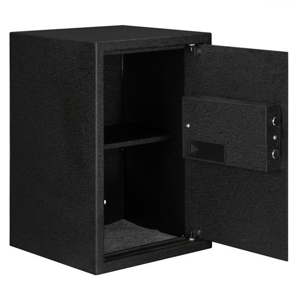 """Home Use Electronic Password Steel Plate Safe Box 13.8*13*19.7"""""""