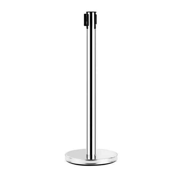2pcs 32 x 90cm Stainless Steel Telescopic Handrails Silver