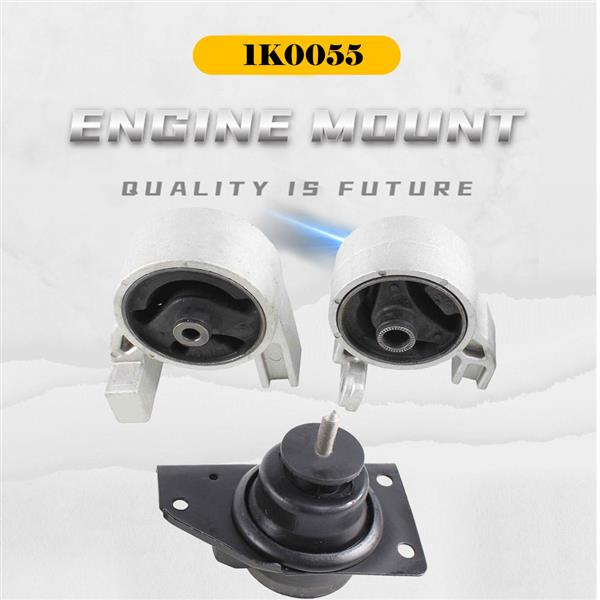 Engine Motor Mount 3PCS Set Fit 2006-2011 Hyundai Accent/ KIA Rio Rio5 1.6L