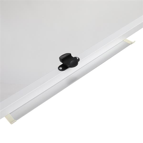 90x120cm Horizontal Mobile Double-Sided Whiteboard